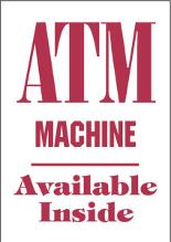 ATM Available Inside | Atlantic ATM